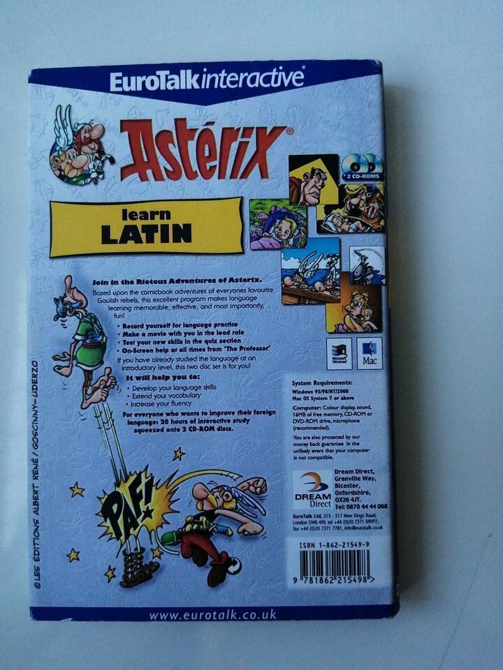ASTERIX .Learn Latin., til pc, til Mac