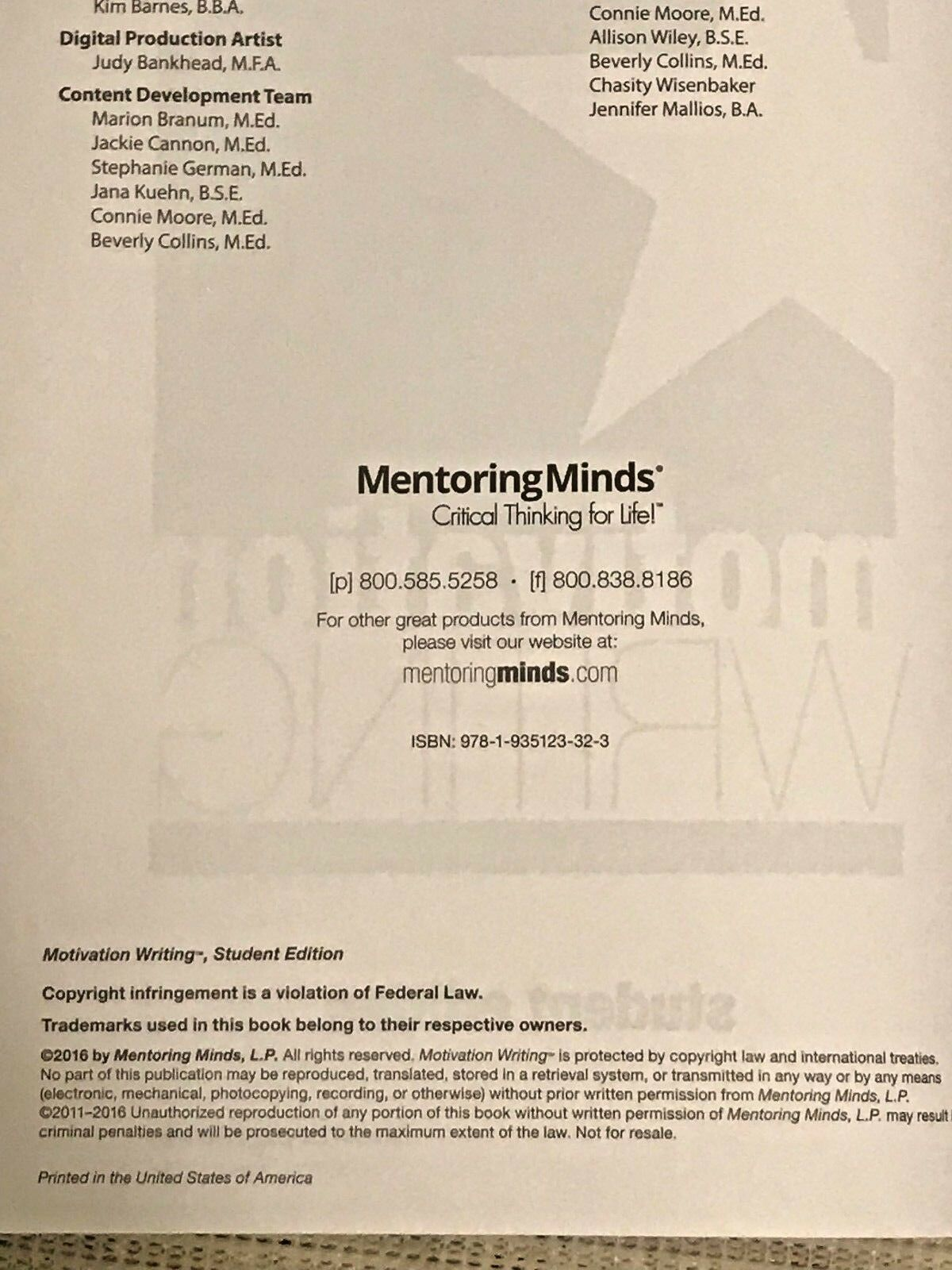 critical thinking for life mentoring minds