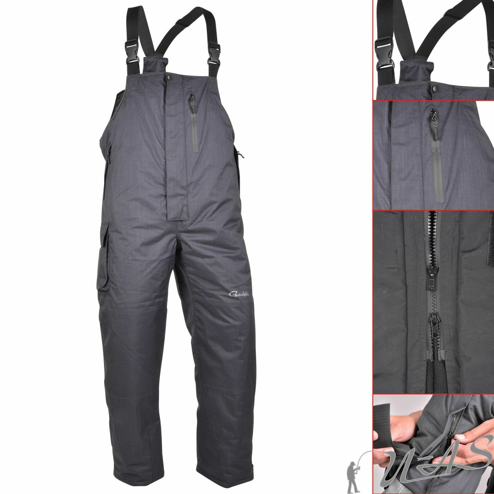 Spro Gamakatsu Thermal Pants Hose Gr. XL Zu Thermoanzug Thermal Angelanzug Kva