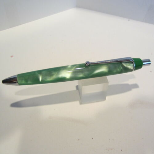 Terzetti REPLAY Fat Green Acrylic Ballpoint Pen-Gift Pouch New Series