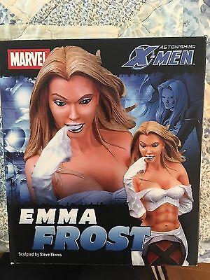 Emma Frost Bust Marvel Diamond Select X-Men low #75 NIB