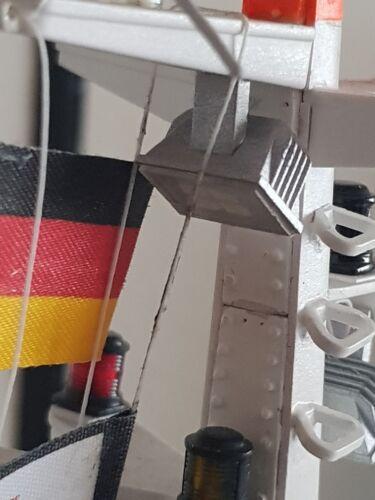 Mastabdeckung  für den SRK Berlin von Robbe
