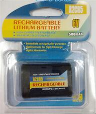 Quality Rechargeable 2CR5 2CR DL245 EL2CR5 battery 6V 500mah Powersmart lithiu