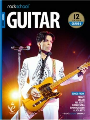 Book//Audio Guitar 2018+ Rockschool Various Grades