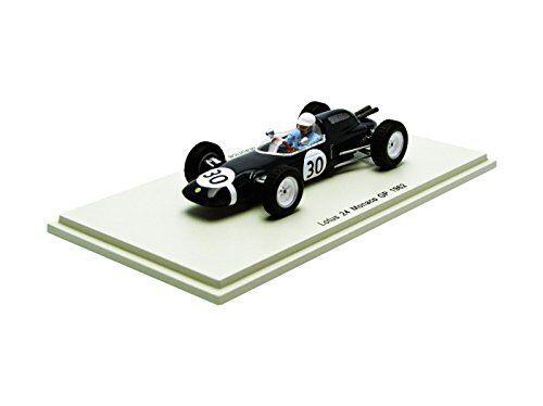 Lotus 24 m. trintignant 1962 accident Monaco GP 1 43 Model s2138 Spark Model