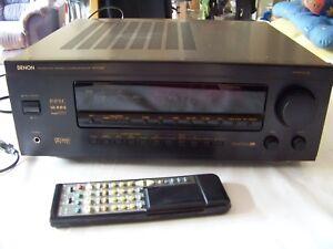 Denon-avr-3200-Av-surround-receiver-rodamient-en-OVP-rar-en-Box-rare