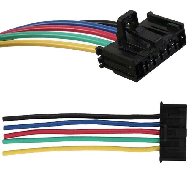 Fiat Grande Punto Heater Blower Motor Resistor Wiring Loom