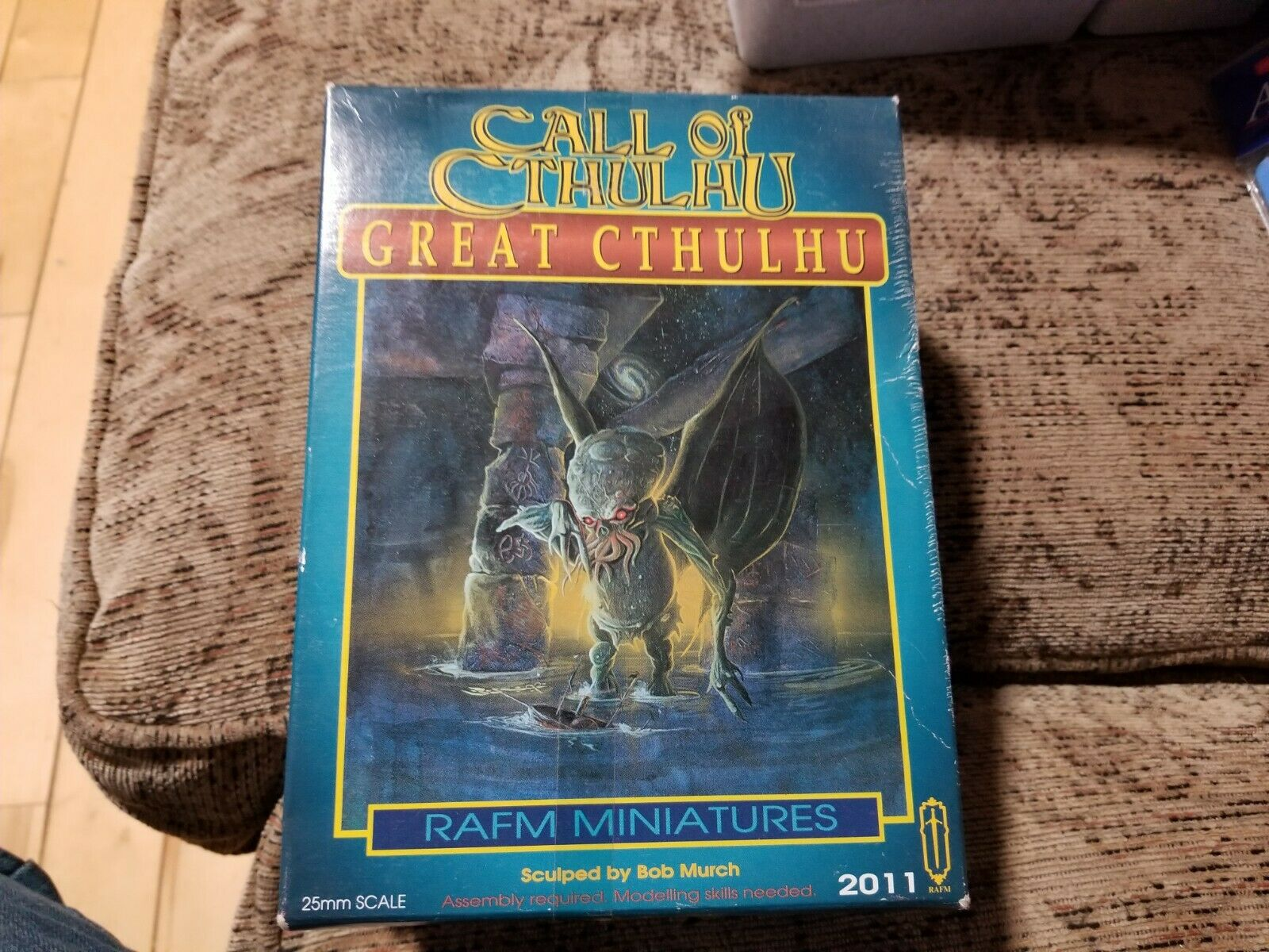 Call of Cthulhu Rafm Great Cthulhu nib 2011 metal OOP 25mm scale rare HTF now