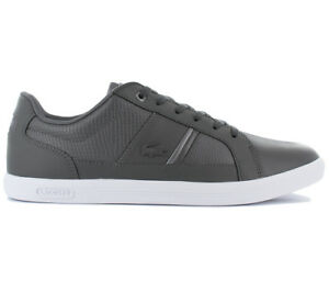 b9cbe2dbb592c Lacoste Europa 417 1 Spm Men s Shoes Sneakers Casual Leisure Leather ...