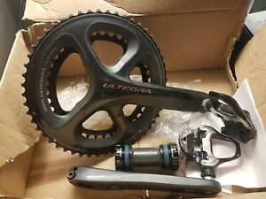 Shimano Ultegra FC-6800 chainset, 11-speed, 53/39 170mm + bb and pedals