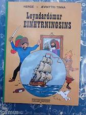 Tintin -  TINTIN ISLANDAIS Le secret de la licorne FJÖLVI 2003 NEUF RARE!