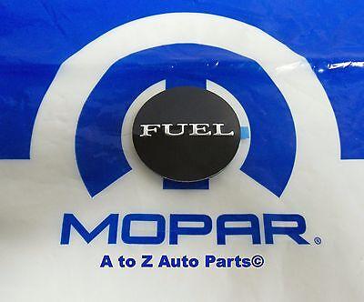 08-19 Dodge Challenger New Fuel Nameplate Badge Fuel Door Sticker Mopar Oem