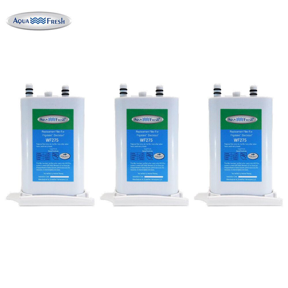 Aqua Fresh Replacement Water Filter  For Frigidaire FRS6LF7JS3 Refrigerators-3pk