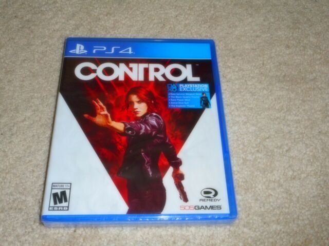 CONTROL...PS4...***SEALED***BRAND NEW***!!!!!!!!!!