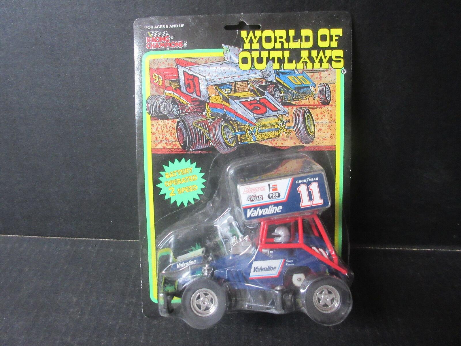 World of Outlaws Steve Steve Steve Kinser Battery Operated 2 Speed Sprint Car 60f854