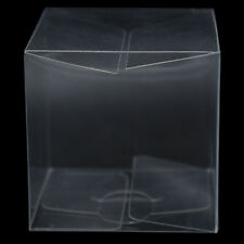 Pvc Clear Boxes Plastic Gift Wedding Party Candy Packaging Jewelry Cube Storage