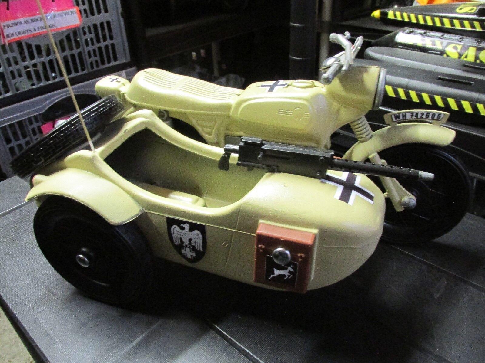 Dragon ActionMan1 6th scale GERMAN MOTORCYCLE & SIDECAR AFRIKA KORPS