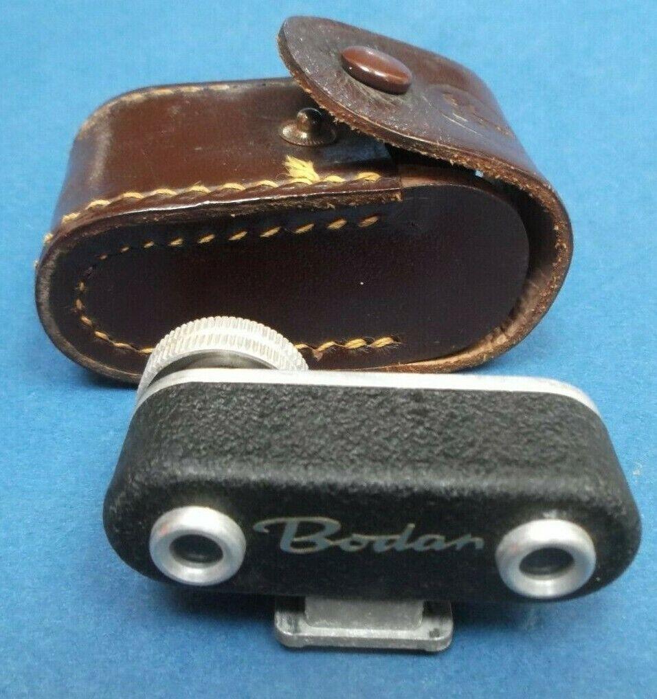 Boden Shoe Mount Rangefinder with origianl case Vintage Camera Accessory