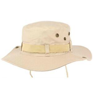 Bob chapeau Safari Sable Marron Clair