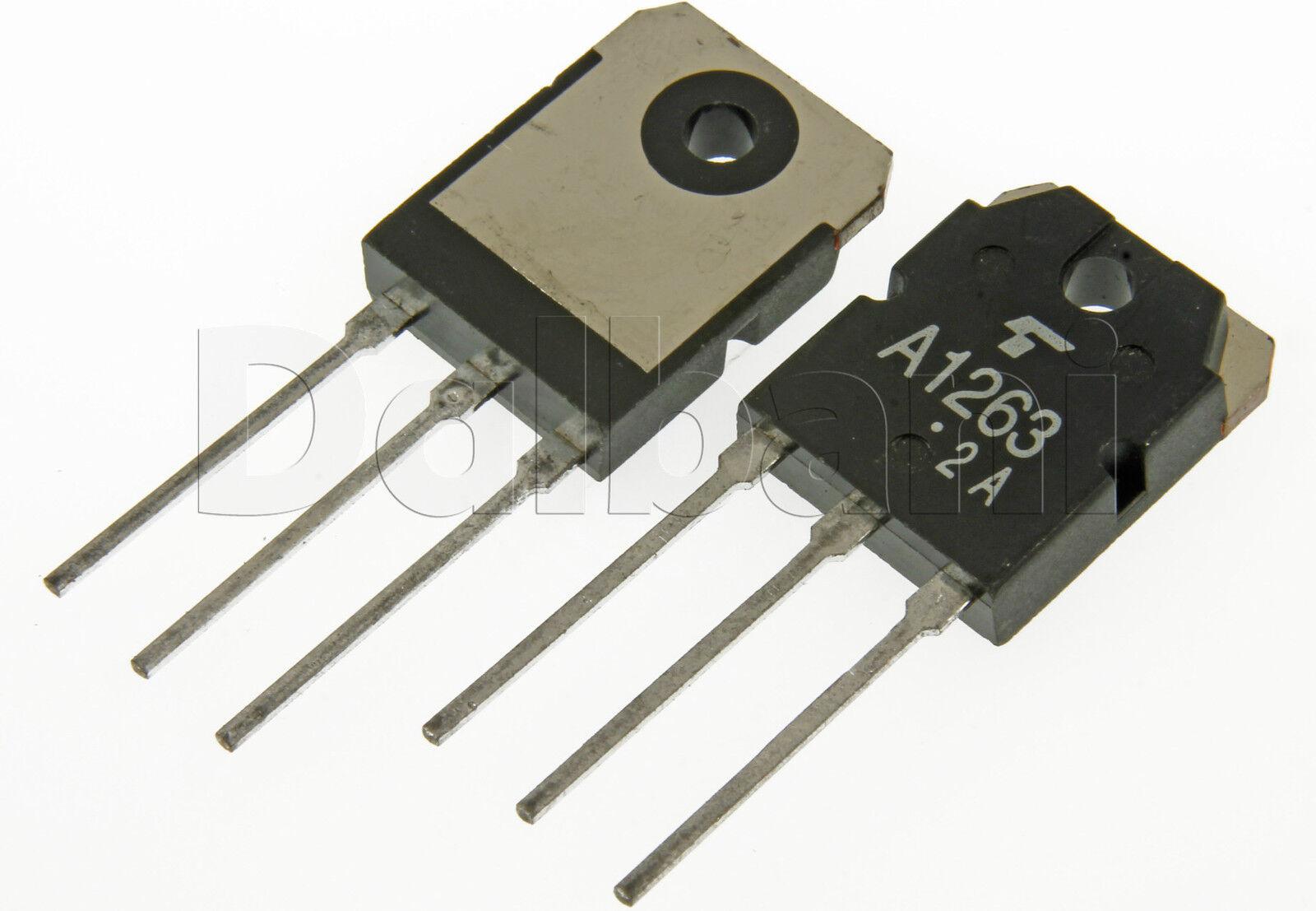 2sa1263n Original Toshiba Pnp To 218 80v 6a 60w Transistor A1263n Ebay Inverter Using Transistors Norton Secured Powered By Verisign