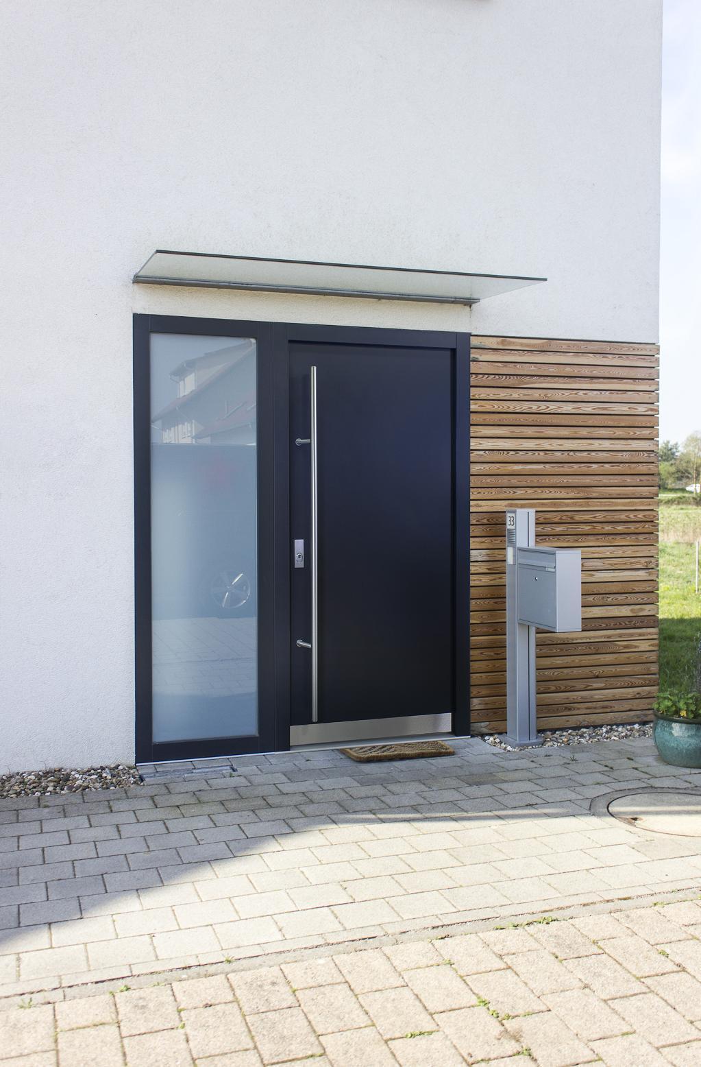 ALUMINIUM AS07 Anthrazit Haustür  Haustüren R oder L