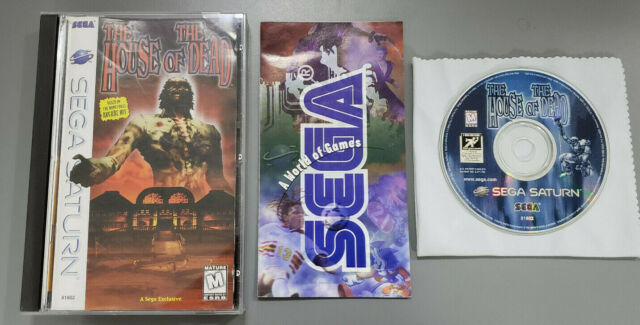 House Of The Dead Sega Saturn 1998 For Sale Online Ebay