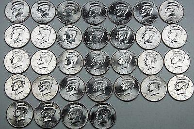 Mint or Bank BU Uncirculated 2000 Kennedy Half Dollar D Roll From Bag