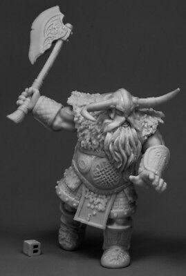 /77543 Bones Unpainted RPG Figure 1H Axe Reaper Miniatures Frost Giant Warrior