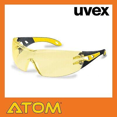 UVEX PHEOS SAFETY SPEC AMBER