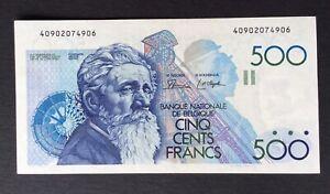 Belgique - Superbe Billet de 500 Francs Meunier (Dasin-De Strijker) 1979-82