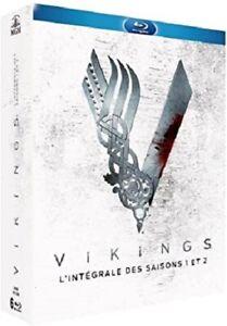 COFFRETS BLU-RAY SERIE HISTORIQUE : VIKINGS - SAISON 1 A 2 - FRANCAIS & ANGLAIS