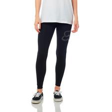 1cb3dfbef1b96 Fox Racing Women's Enduration Lifestyle Legging Black/White & Heather  Graphite
