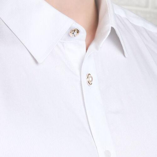 Fashion Women Accessories Shawl Button Cardigan Collar Brooch Pin Creative Gift