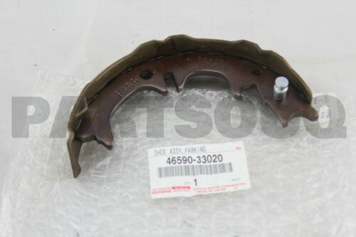 PARKING BRAKE LH NO.2 46590-33020 4659033020 Genuine Toyota SHOE ASSY