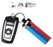 373- BMW ///M Power M POWER SPORTS STRAP KEY CHAIN 3 5 6 SERIES M3 M5 M6 325 320