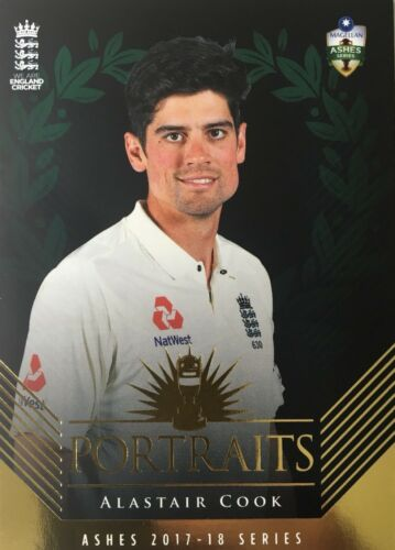 2017 Tap n Play The ASHES PORTRAITS. ALASTAIR COOK.. England. 67250