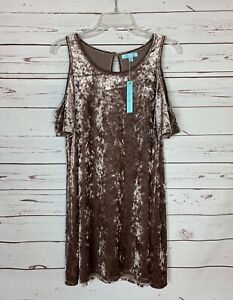 She-Sky-Stitch-Fix-Women-039-s-S-Small-NEW-TAGS-Velvet-Velour-Cute-Fall-Tunic-Top