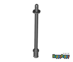 Lego 2x Stab Stange 8L Schwarz Black Bar with Stop Rings 2714b Neuware New