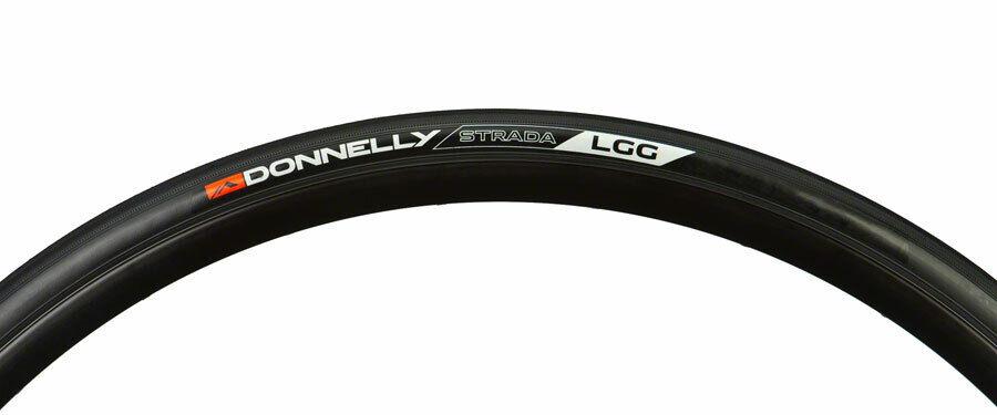 Black Folding Clincher 700 x 32 60tpi Donnelly Sports Strada USH Tire