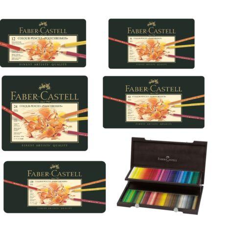 From 12  to 120 Faber Castell Polychromos Artist Quality Colour Pencils Set