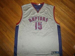 b9a308123 Image is loading TORONTO-RAPTORS-VINCE-CARTER-15-JERSEY-Basketball-NBA-
