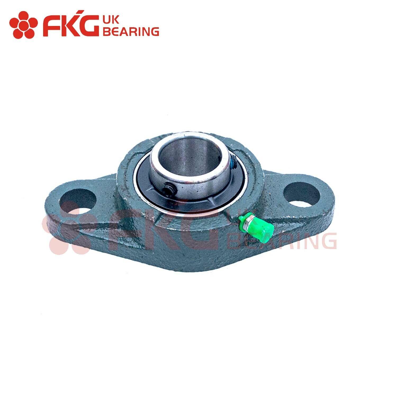 Casing Bearing Pedestal Flange Ucfl Ucfc 201-218 12-90mm Shaft Round//Oval