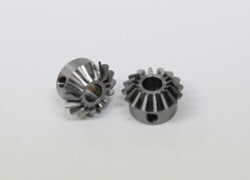 1 Paar 16//16 Zähne Kegelzahnrad aus Stahl Modul 0,7 B 5