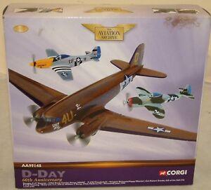 Aviation: Douglas C-47, ensembles P47-d et P-51d (dj)