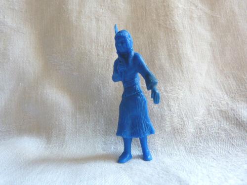 Squaw avec bébé Davy Crockett Figurine publicitaire La roche aux fées