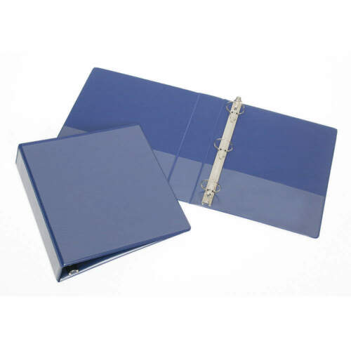 "ABILITY ONE 7510-01-519-4382 3-Ring Binder,1-1//2/"",Blue"
