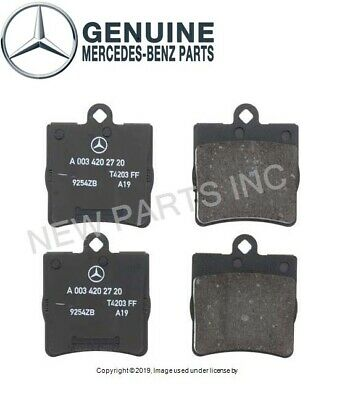 Brembo Rear NAO Ceramic Brake Pad Set For MB W203 S203 C209 A208 A209 E210 R171