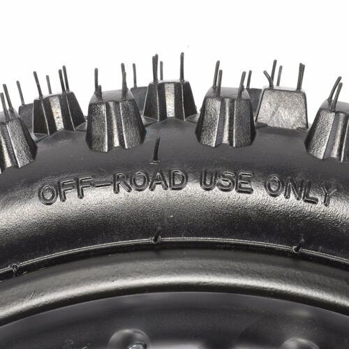 """14/"""" 12/"""" Wheel Set 60//100-14/'/' Tube F Dirt Bike 80//100-12/'/' Knobby Tyre Tire"""