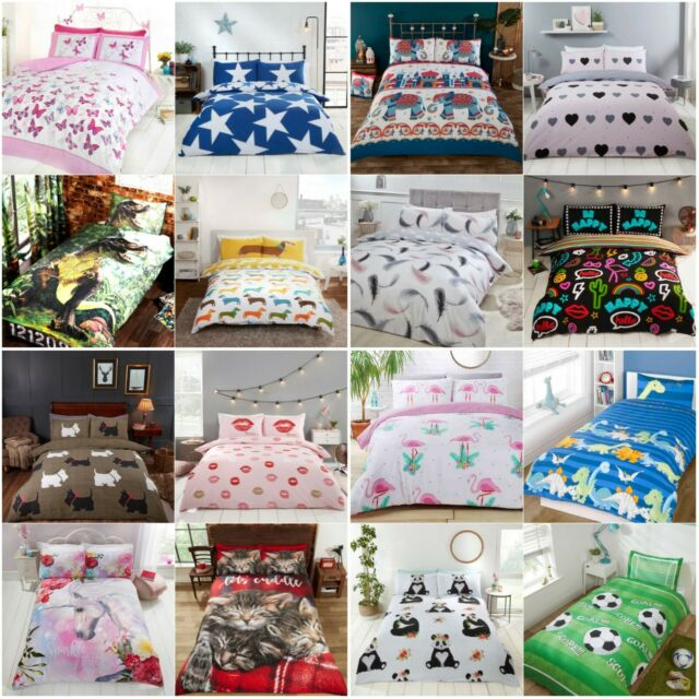 LLama Multi Duvet Cover with Pillow Case Quilt Cover Bedding Single Double King