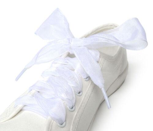 Schnürsenkel Flache Seidensatinband Sportschuhe Schnürsenkel Schnürsenkel